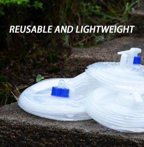 Collapsible Water Bag-wearable, durable, reusable and lightweight