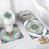 2PCS Bathroom Decor Stickers