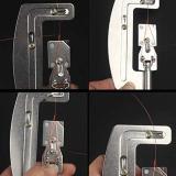 Semi-Automatic Portable Hook Tie