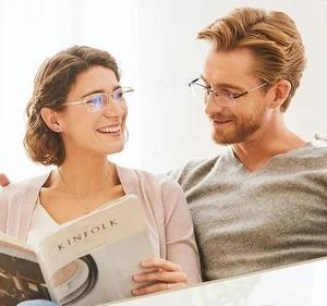 Anti-blue Light Intelligent Zoom Far And Near Dual-use Reading Glasses