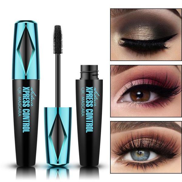2020 NEW 4D Waterproof Silk Fiber Thick Lengthening Mascara
