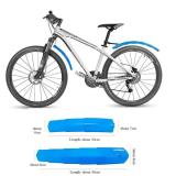 Bicycle Retractable Mudguard-Super Pressure Resistant with taillights