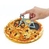 Bicycle pizza wheel cutter