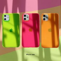 Highlighter Colors Clear Phone Cases