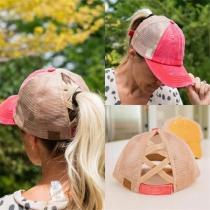 Summer Women's NEW Ponytail CC caps
