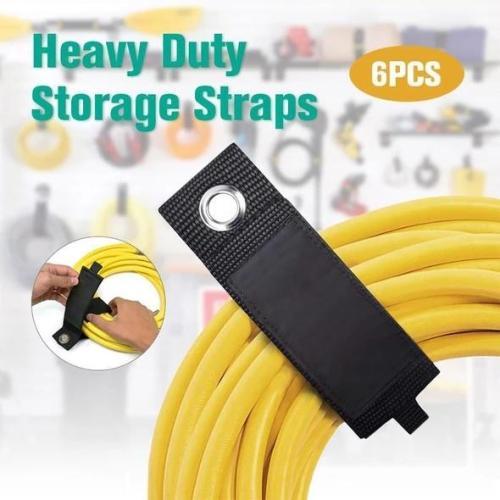 Heavy Duty Storage Straps(6 Pcs)
