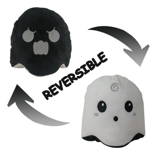 Reversible Ghost Mini Plush Toy