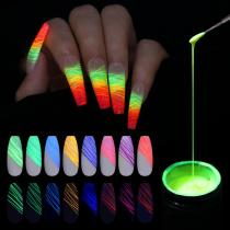 Luminous Spider Nail Gel Set