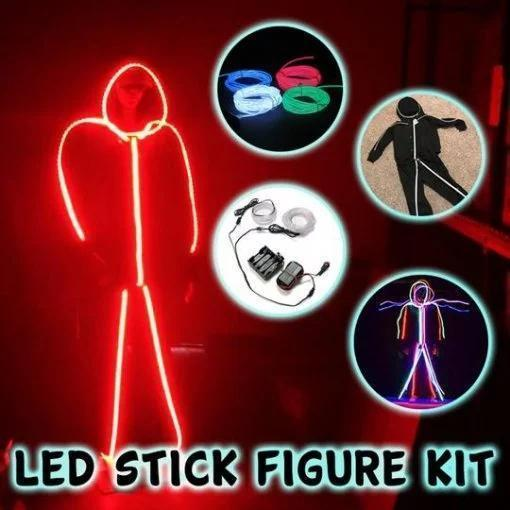 ( Halloween HOT SALE ) LED Stick Figure Kit