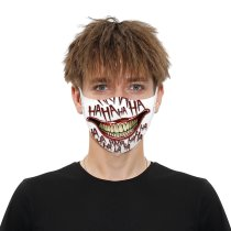 Halloween Style Printed Cloth Mask