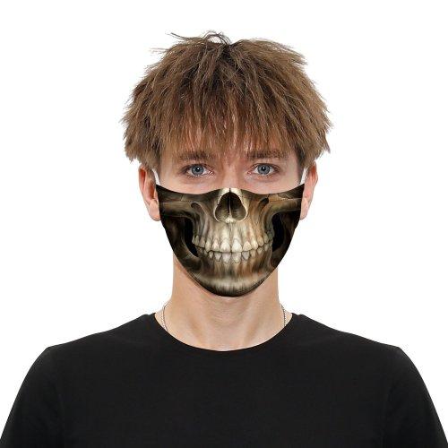 Halloween Style Printed Cloth Mask