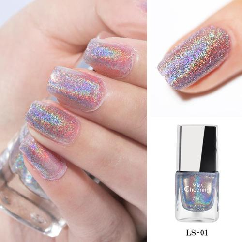4D Holographic Laser Nail Polish