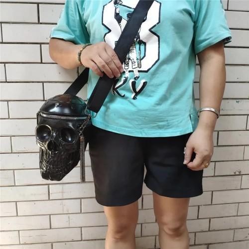 3D Skull Handbag