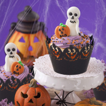 Halloween Cupcake Wrappers (12Pcs/Set)