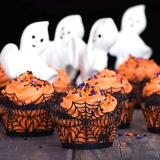 Halloween Cupcake Wrappers (12Pcs/Set)
