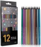 12/18 Color Metallic Color Pencils Set