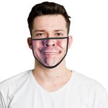 Mouth Emoji Print Face Mask