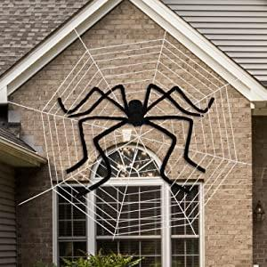 Giant Spider for Halloween Decorations