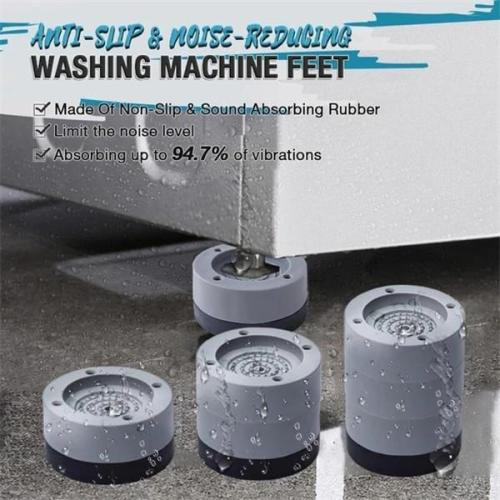4PCS Anti-slip And Noise-reducing Washing Machine Feet