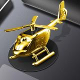 Solar Helicopter Car Aromatherapy Decoration