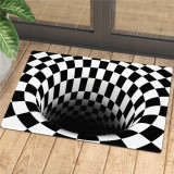 Caretive Vortex Illusion Doormat