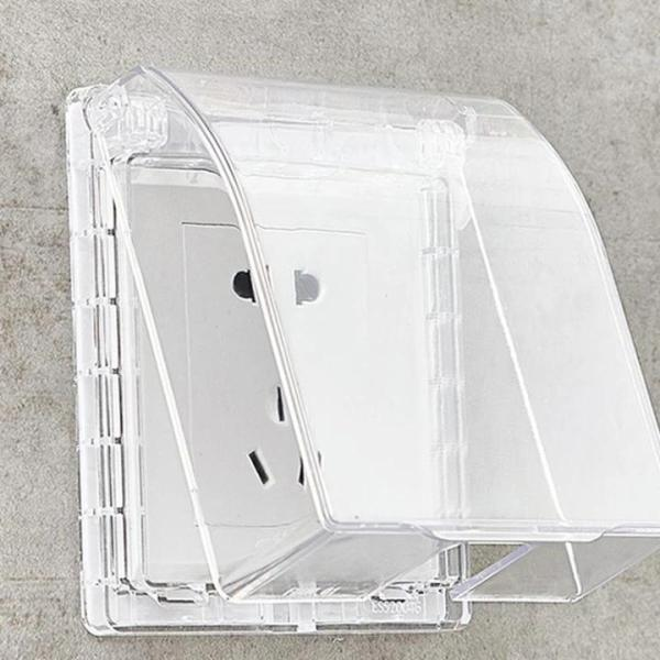Waterproof Wall Socket Plate Panel Switch Box Cover