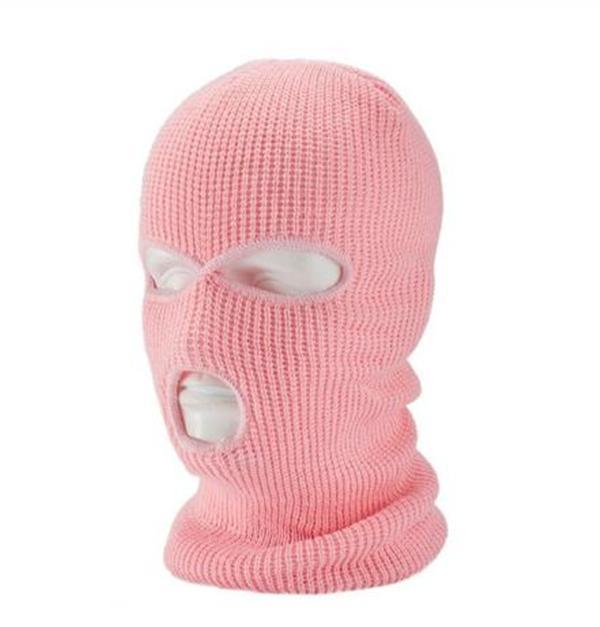 Unisex Full Face Cover Knit Ski Mask