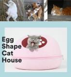 Grey Ombre Cat Cave | Pet Bed