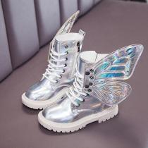 Children Angel Wings Martin Boots