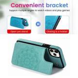 Wallet Card Holder Leather Phone Case