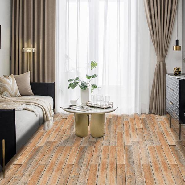 3D Wood Floor Self-adhesive Wall Stickers