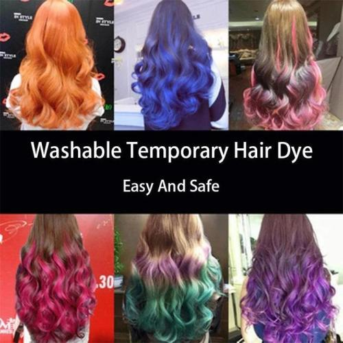 Washable Temporary Hair Dye