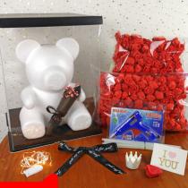 Hand-work Diy Rose Bear Accessories
