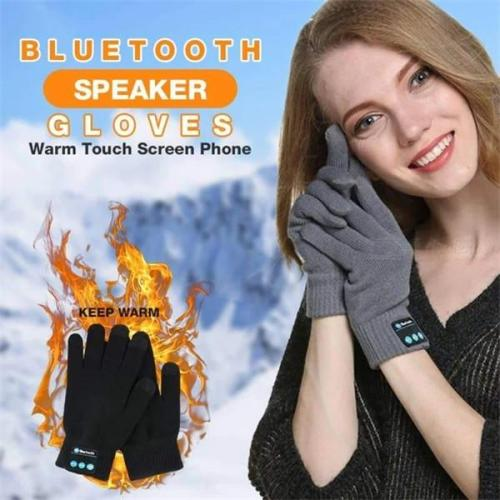 Warm Touch Screen Phone Bluetooth Speaker Gloves