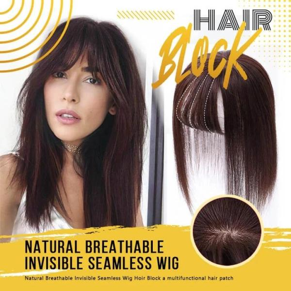 Natural Breathable Invisible Seamless Wig Hair Clip