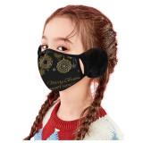 Children's Christmas Style Earmuffs Mask