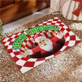 Merry Christmas Illusion Doormat
