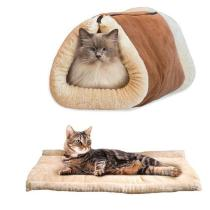 Warming Cat Bed Cave Tunnel Pet House