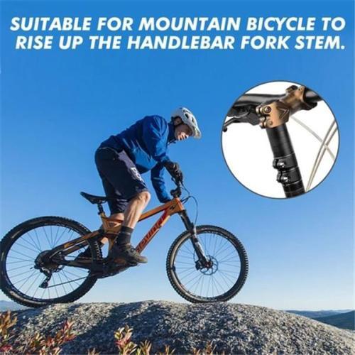 Bicycle Fork Stem Extender Handlebar (Riser Bike Neck)