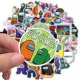 Among Us Stickers Mix (50 PCS)