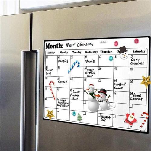 Refrigerator Magnet Calendar