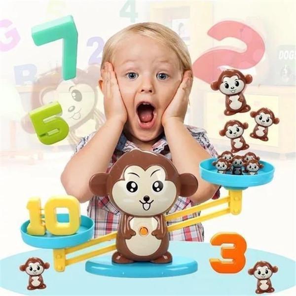 Montessori Toy Monkey Mathematician