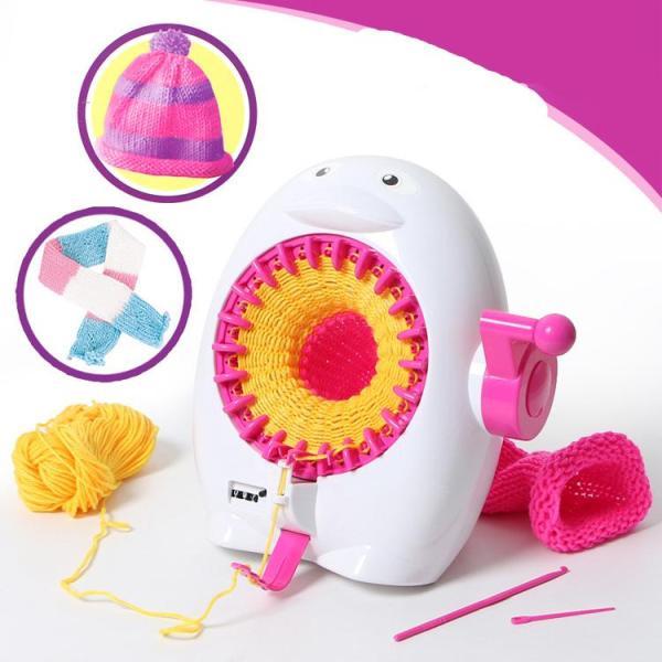 DIY Kid 22 Needles Knitted Machine Toy