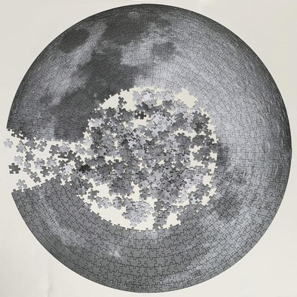 The Moon 1000-Piece Puzzle