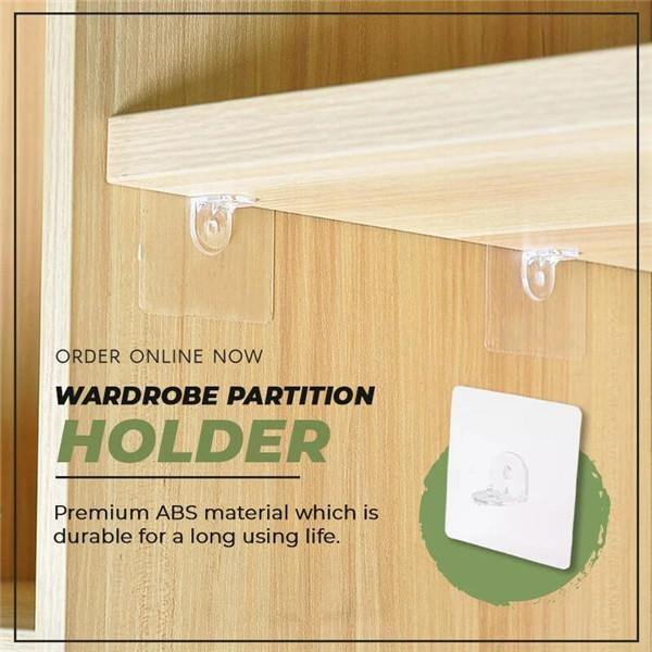 Wardrobe Partition Holder