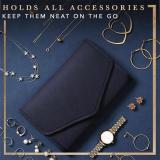 Foldable Velvet Travel Accessory Pouch