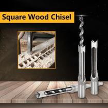 Square Wood Chisel Drill Tool (1SET)
