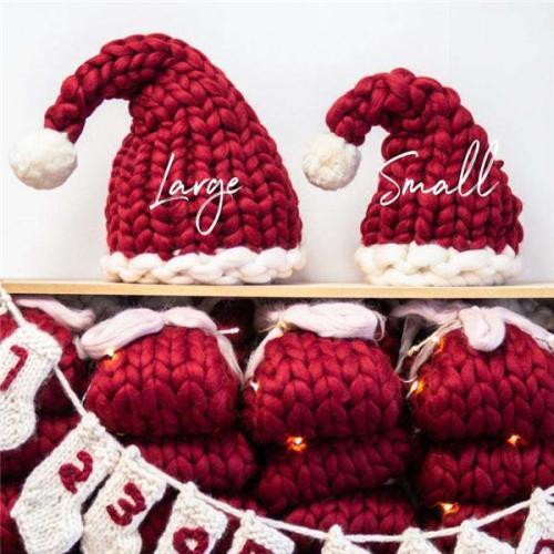 🎄Christmas Gift 🎁 Christmas Knit Santa Hat.