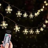 Snowflake String Lights
