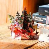 3D Christmas Pop Up Cards
